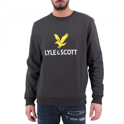Lyle & Scott | Logo Sweatshirt Grigio | LYS_MLSML1022V 398