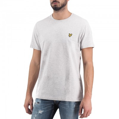Lyle & Scott | Plain T-Shirt Grigio | LS_TS400V_D24
