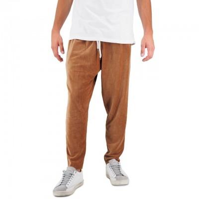 Ko Samui   Basic Chenille Pants Brown   KSU_PCM BASIC FW19 WOD