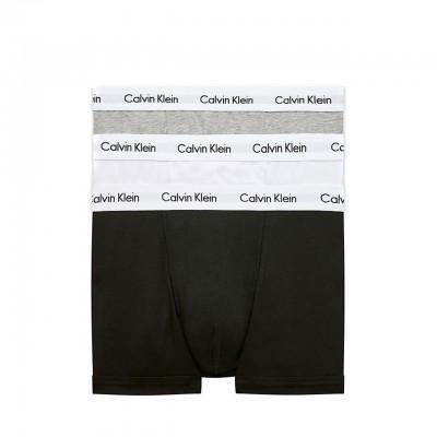 Calvin Klein | 3 Pack Low Rise Trunk, Nero | CKL_0000U2664G998