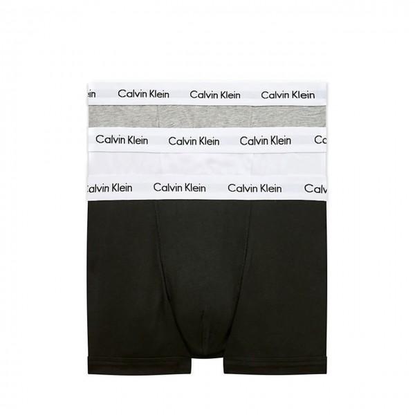 Calvin Klein   3 Pack Low Rise Trunk, Nero   CKL_0000U2664G998