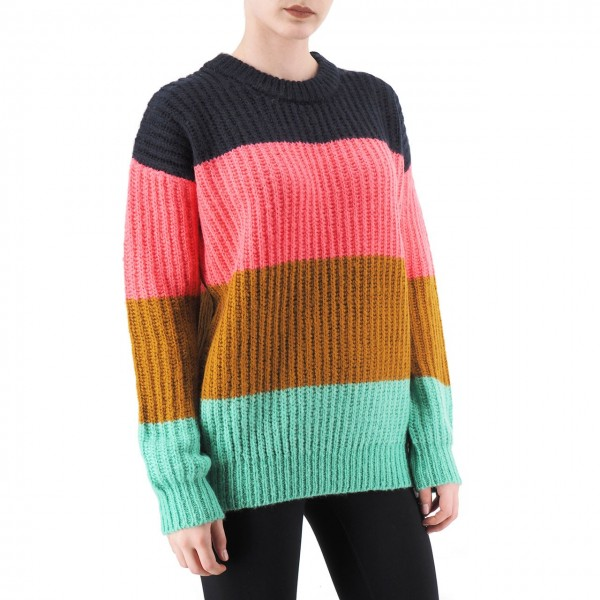 Scotch & Soda | Colour Block Crewneck Pullover, Multi | S&S_153439 19