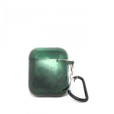 Benjamins | Air Pods Green Glossy Case Multi | BEN_BJAP-PLGREEN