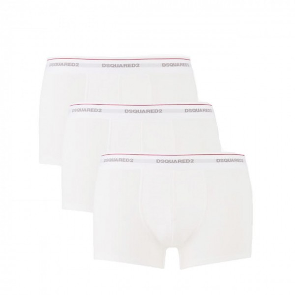 Dsquared2 | 3 Pack Trunk White | DSQ_DCX60040-110