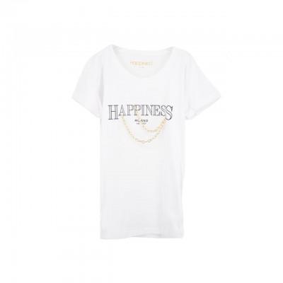 Happiness | Splendida Tee, Bianco | HAP_SPLDA_LA3020