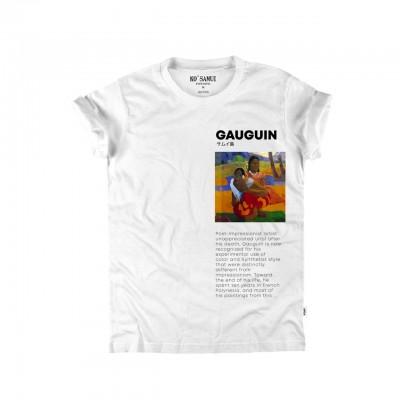 Ko Samui | Art T-Shirt, Bianco | KSU_TB 336 PAUL WHT