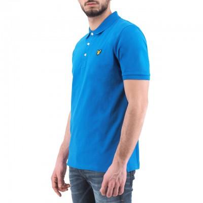 Lyle & Scott | Slim Stretch Polo Shirt, Blu | LYS_SP919V J43