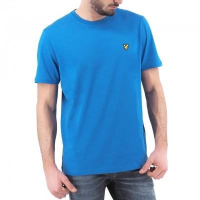 Lyle & Scott | Plain T-Shirt, Blu | LYS_TS400V J43