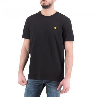 Lyle & Scott | Plain T-Shirt, Nero | LYS_TS400V Z865