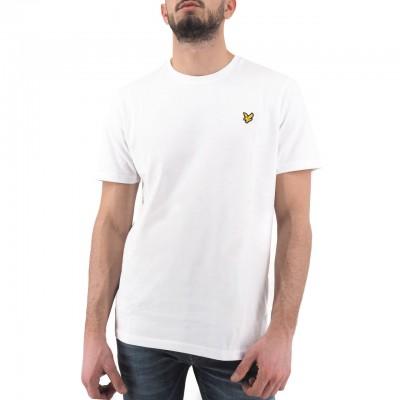Lyle & Scott | Crew Neck T-Shirt Bianco | LYS_MLSTS400V 626