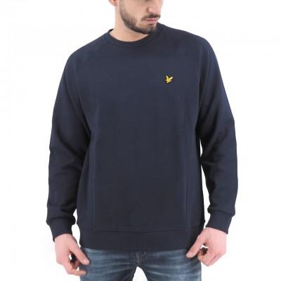 Lyle & Scott   Raglan Pique Sweatshirt, Blu   LYS_ML1249V Z99