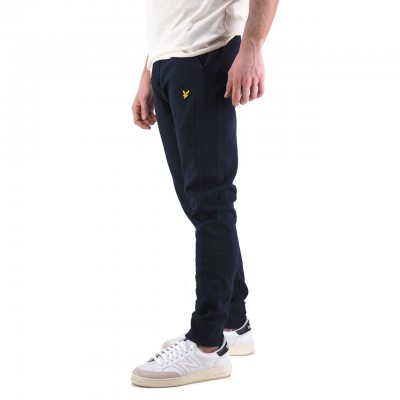 Lyle & Scott | Pique Trackpant, Blu | LYS_ML1248V Z99