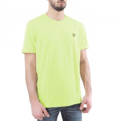Lyle & Scott | Plain T-Shirt, Verde | LYS_TS400V Z913
