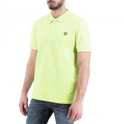 Lyle & Scott | Slim Stretch Polo Shirt, Verde | LYS_SP919V Z913