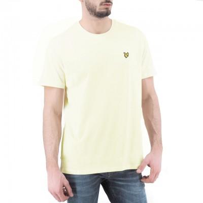 Lyle & Scott | Plain T-Shirt, Beige | LYS_TS400V X80