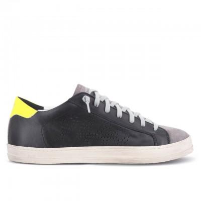 P448   Sneaker John Blk/Fyel Nero   P448_S20JOHN BLK/FYEL