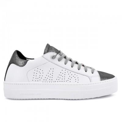 P448 | Sneaker Thea Whi/Sblk Bianco | P448_S20THEA WHI/SBLK