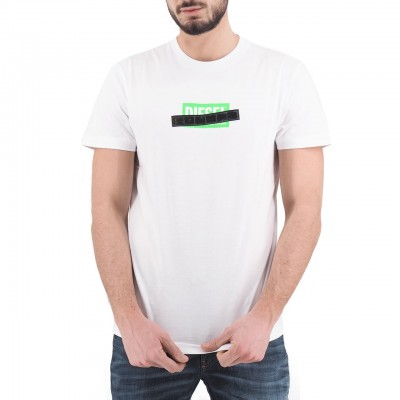 Diesel   T-Diego-S7 T-Shirt, Bianco   DSL_00SEEB 0BASU 100
