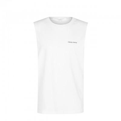 Calvin Klein | Relaxed Retro Crew Tee, Bianco | CKL_KM0KM00468YCD
