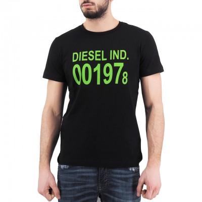 Diesel   T-Diego 001978 T-Shirt, Nero   DSL_00SASA 0AAXJ 900