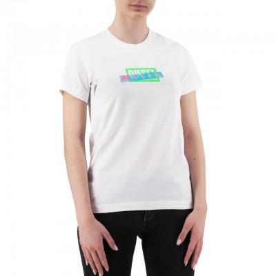 Diesel | T-Sily-S2 T-shirt, Bianco | DSL_00SEMA 0BASU 100