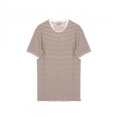 Daniele Alessandrini | T-Shirt Solitudine, Marrone | DAL_M7351E8034002 24