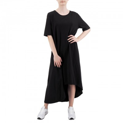 Soho-T | T-Shirt Dress Agave, Nero | SHO_SW20A28 BLK