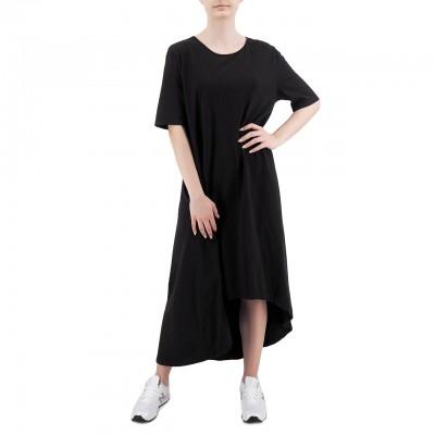 Soho-T | T-Shirt Dress Agave, Nero | SHO_SW20A28 BLK