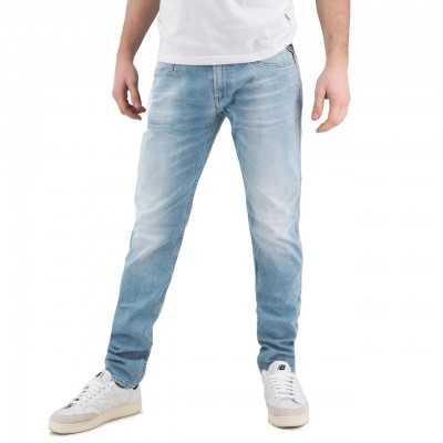 Replay   Jeans Slim Fit Anbass, Blu   RPY_M914 .032.573 664.010