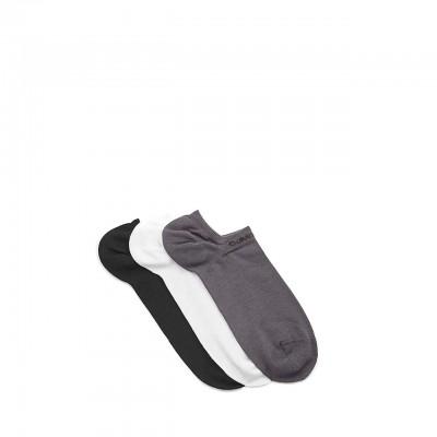 Calvin Klein | Calzini Cotton Coolmax Blend 3 Pack, Grigio | CKL_ECA376-93