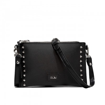 Gum Design | Beauty Case Nero Borchia C Fuc Nero | GUM_BS 1774/20AI STUDS 11598