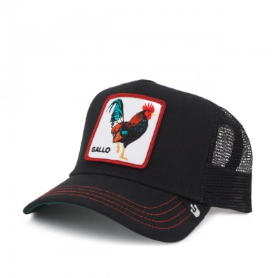 Goorin Bros. | Cappello Da Baseball Grande Gallo, Nero | GOB_101-0677-BLK