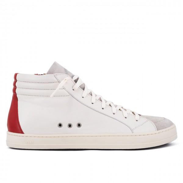 P448   Sneaker Skate Cream/Red Beige   P448_F20SKATE CREAM/RED