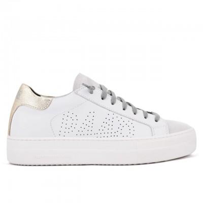 P448   Sneaker Thea Whi/Pla Bianco   P448_F20BTHEA WHI/PLA