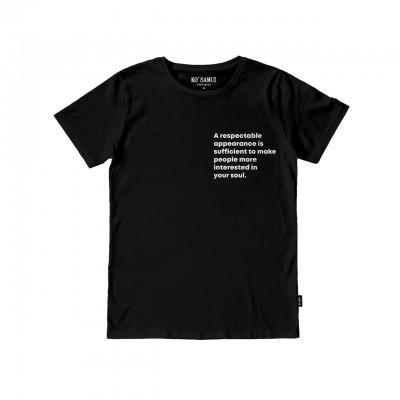Ko Samui | I Have A Dream Otto T-Shirt, Nero | KSU_TT C07 OTTO BLK