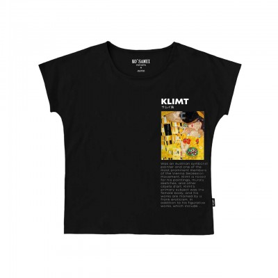 Ko Samui | Art Symbolist T-Shirt, Nero | KSU_TE C38 SYMBOLIST BLK