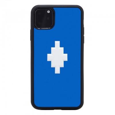 Marcelo Burlon | Cover 3D Cross Blue iPhone 11 Pro Max Blu | MBU_M1965-3DCROSSBLUE