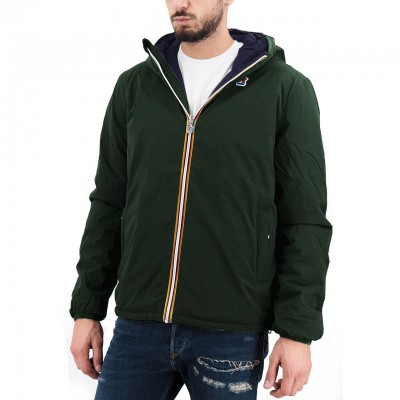 K-Way   Giacca Jacques Warm Double, Verde   KWAY_K111JKW A08