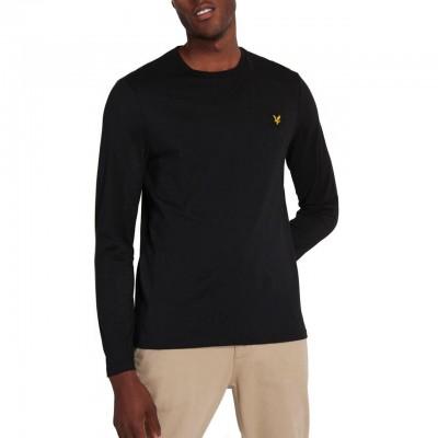 Lyle & Scott  | LS Crew Neck T-shirt, Nero | LYS_TS512V Z865