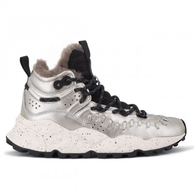 Flower Mountain | Silver Mohican Sneakers | FWM_001 2015289 03