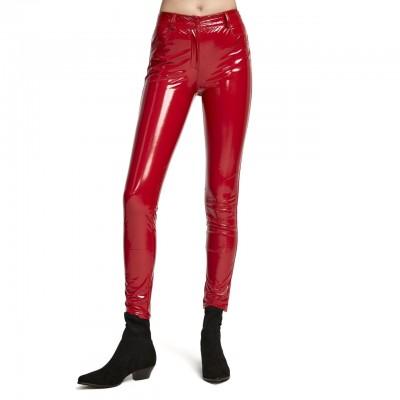 Aniye By | Pantaloni Skinny Susan, Rosso | ANI_181751 00003
