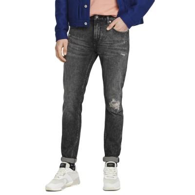 Scotch & Soda | Skim Carve It Out Skinny Jeans, Black | S&S_156683 3723