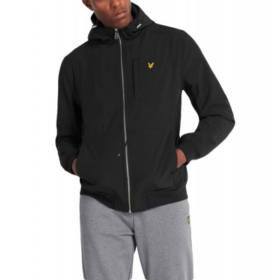 Lyle & Scott | Softshell Jacket, Black | LYS_JK1214V Z865