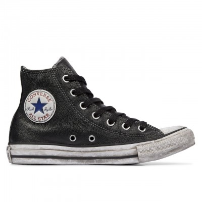 Converse | Chuck Taylor All Star Vintage Leather Nero | CNV_158575C