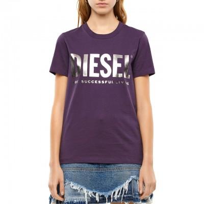 Diesel   T-Sily-Wx T-shirt, Viola   DSL_00SYW8 0CATJ 64C