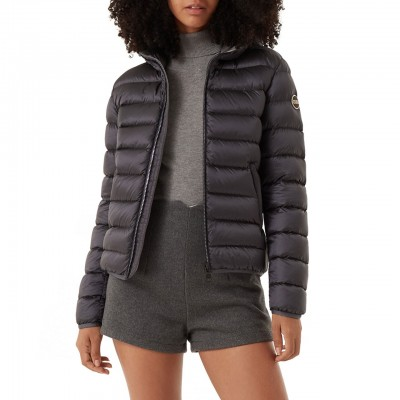 Colmar Originals | Short Down Jacket With Hood, Grey | COL_2286N 7QD 338