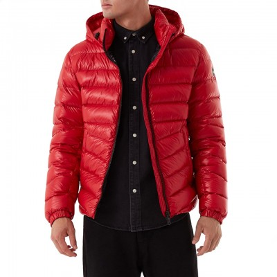 Colmar Originals | Polished Down Jacket With Personalized Red Lining | COL_1271 3TW 193