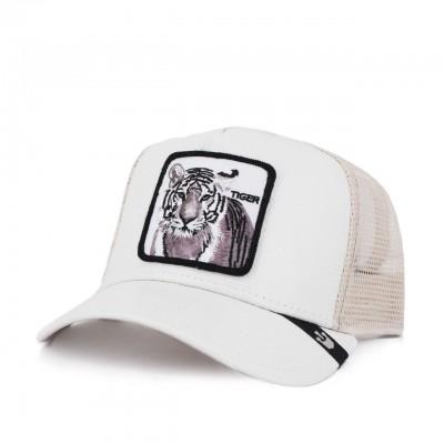 Goorin Bros. | Cappello Da Baseball Tiger, Bianco | GOB_101-0606-STN