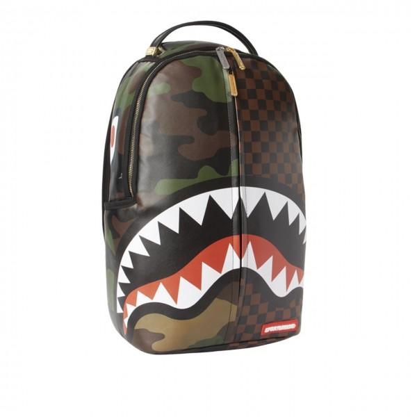 Sprayground | Checks & Camoflague Backpack Marrone | SPR_910B3156NSZ