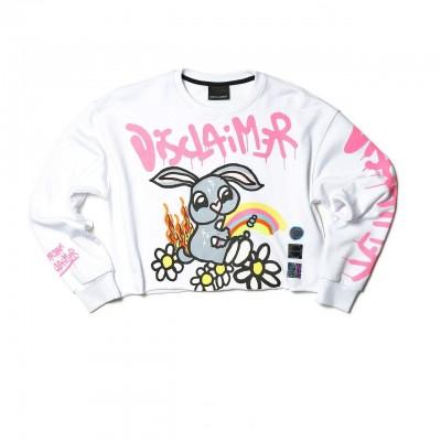 Disclaimer | Sweatshirt, Bianco | DSC_50660